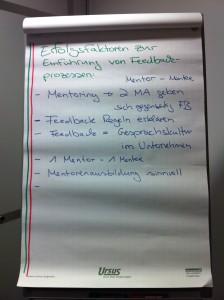 Erfolgsfaktoren-Feedback