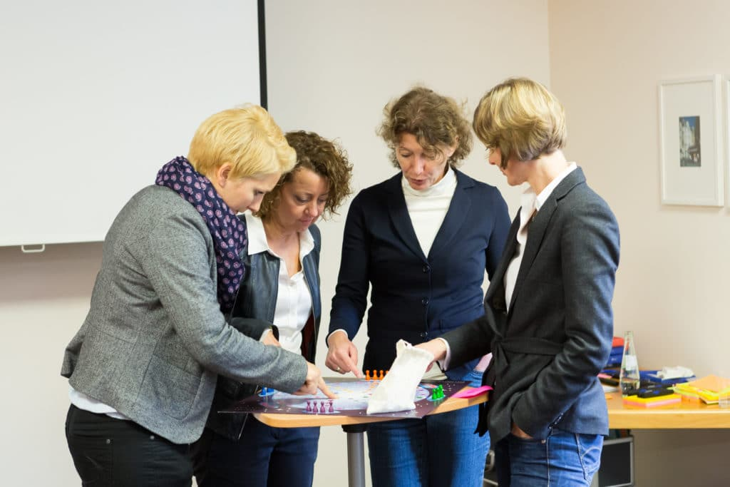 HR Pioneers Einblicke ins Training – 2