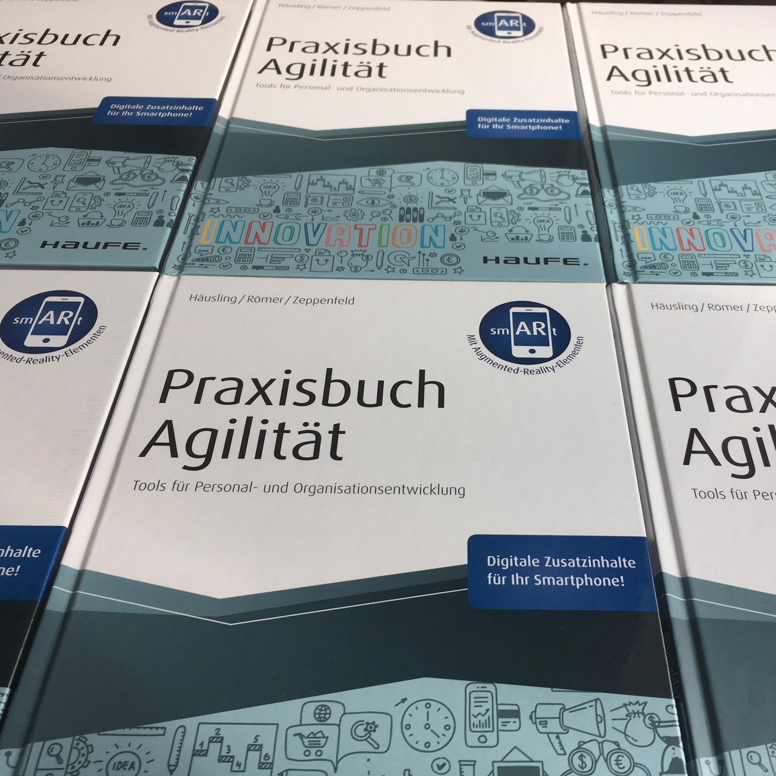 Praxisbuch Agilität – Cover