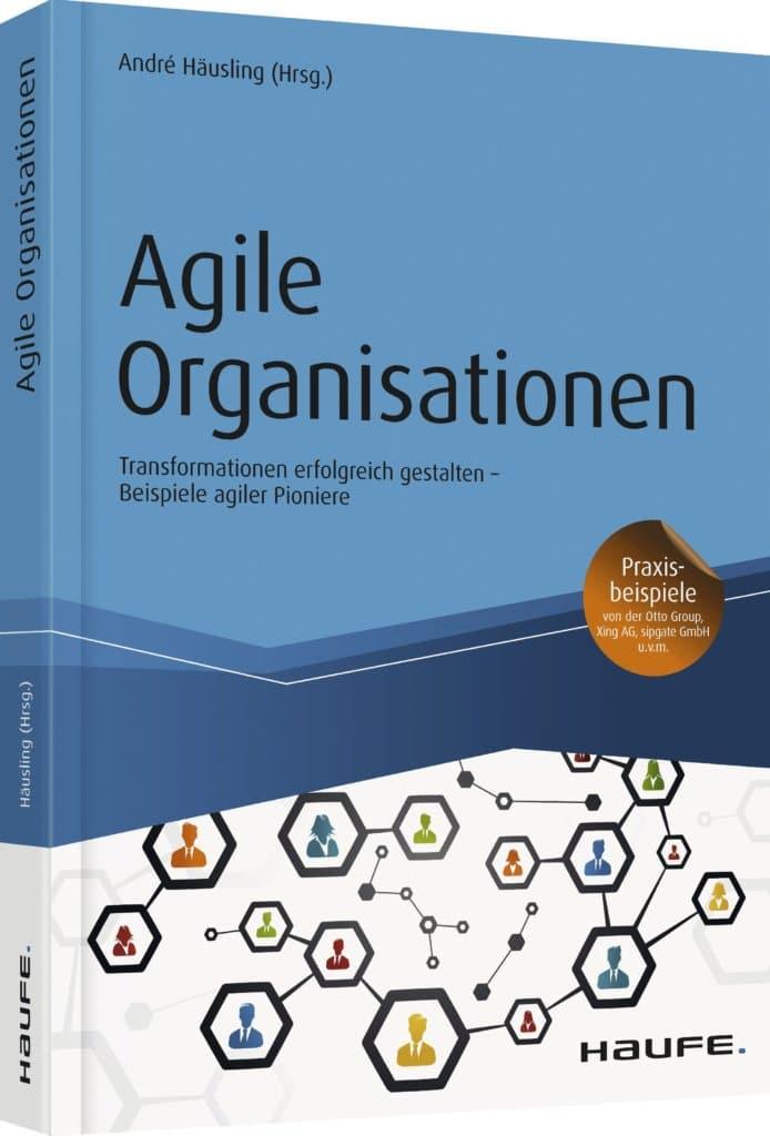 Agile Organisationen – Cover