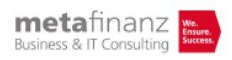 metafinanz – Logo