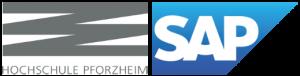 SAP und Hochschule Pforzheim – Logo