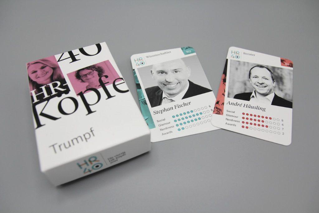 40 Köpfe Kartenset