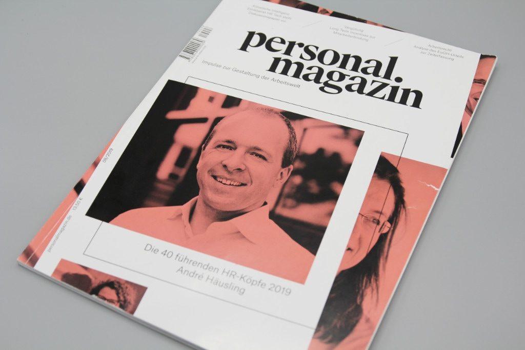 Personalmagazin Titelseite