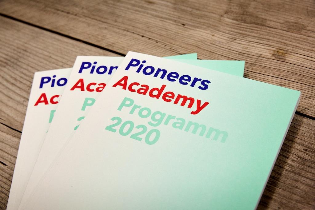Pioneers Programm Header