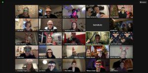Weihnachtsfeier bei HR Pioneers
