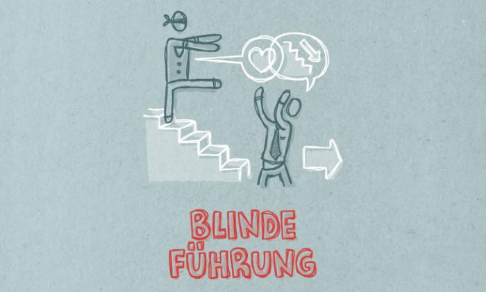 Agile Tool: Blinde Führung
