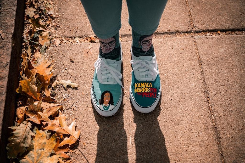 Kamala Harris – Schuhe