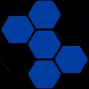 5 Module blau